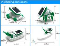 battery powered plane - Solar Power in Toy Kit DIY Educational Robot Car Boat Dog Fan Plane Puppy toys