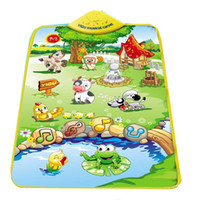 bear mat - New Multicolor Animal Farm Musical Music Touch Play Carpet Mat Blanket Kid Baby Toy