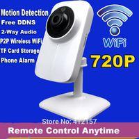 bay alarm - CCTV Security Home Wireless WIFI P2P Audio Intercom P HD IP Network Camera Bay Family Monitor Motion Detection Alarm TF Card