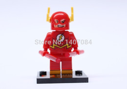 Wholesale Action Toys Super hero Minifigures Individual Nick Fury The Flash Acqua man Cyclops Educational Bricks Bulidling Blocks