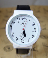 invicta watch - Fashion Casual Analog Digit White Dial Quartz Watch Multi Color Leather Band Relogio Invicta Children Wrist Watch Quartz Watch