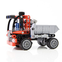 best car transport - Decool Technic Transport Container Truck Car Building Block Sets Model DIY Bricks toys education for children best gift