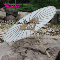 bamboo wedding canopy - Factory direct Paper canopy Radius cm Bamboo ribs Wedding parasols Chinese sun umbrellas