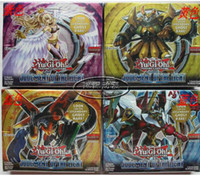 Wholesale Yu Gi print card group English card booster pack cartons ruling Light Yu gi oh ZEXAL