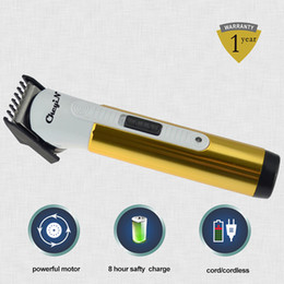 Two Way Power Electric Men's Hair Clipper Haircut Machine Professional Hair Trimmers Titanium Blade For Kids Men RCS45G-P41