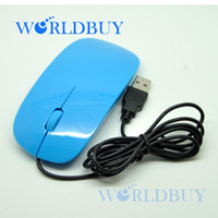 ghb - High Quality Ultra thin USB wired mouse amp Optical Mouse DHL EMS HKPAM CPAM GHB