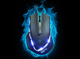 Wholesale-new 2015 optical games wired gaming mouse USB wired Professional game mice for laptops desktops