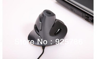 apply laptops - Creative Wireless Wired Vertical Health USB Mouse New Upright Apply to Desktop Laptop Laser Mouse Mice DPI800