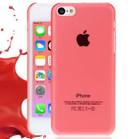 al shell - OA amp amp UAT AL PC Ultra thin Transparent Phone Cover Cases For Apple iPhone5C iPhone C Case Protection Shell HUIT AT