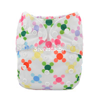 Wholesale printed baby diaper nappies breathable cloth diapers jctrade sets