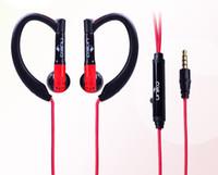 bendable metal wire - Sport earphone super bass metal earphone with Bendable Ear Hook with