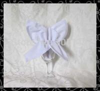 Wholesale CM cotton napkin table napkin dinner cloth white