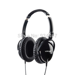 Locas-High Quality Active Noise Canceling Headphones Wired Stereo Earphone Hot PC Headset Free Shipping