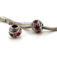 Wholesale chunky beads silver tibetan silver Murano Glass Beads Europe Fits pandora Bracelets Charm necklaces amp pendants KEPJ007