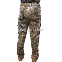 big man hunting clothes - Hunting Big Size Bionic Realtree Camo Pants Clothes Pure Cotton Realtree Camouflage Trousers Pants