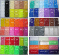 Wholesale 2 mm bag color perler hama bead education kid diy toy tweezer fuse iron paper kit craft template pegboard pyssla