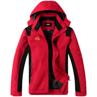 big mens ski jackets - 2015 Brand Softshell Jackets Men Sport Outdoor Mens Jackets For Climing Hiking Camping Ski Coat Big Size XL XL XL