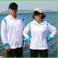Wholesale fishing clothes breathable sun protection clothing UV light culvert fishing gear New