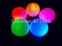 Wholesale Factory Direct Luminous night LED Golf Ball Training Exercise Ball