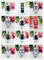 airs wristwatches - kpop New bigbang SNSD EXO ne1 shinee group korean syle wristwatch Russia air shipping