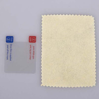 Wholesale For iPod Nano G th Clear Screen Protector screen protector clear cloth retail package