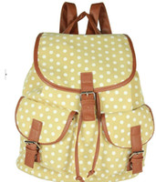 backpack purse pattern - FLYING BIRDS new Ethnic style bags dot pattern Women Backpacks school bags Backpack women s travel Bags purse LS3568
