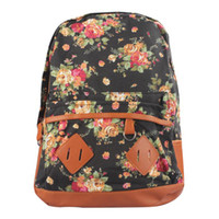 alice backpack - 2015 Fashion Casual Women s Colorful Canvas Backpacks Girl Lady Student School Travel bags Mochila colors Alice