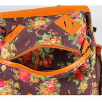 backpacks buy - To buy new Korea rural wind floral canvas backpack leisure female bag shoulder bag