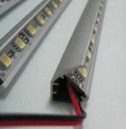10pcs 0.5 m 30LED 5050 SMD LED rigid strip   jewelry lamp   LED light bar   white  warm white