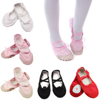 Women Ballet Dance Shoes Adult And Children Genuine Leather Soft Sole Dancing Shoes Practice Shoes Ballet