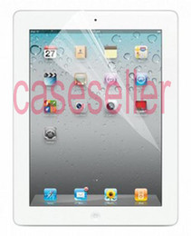 Wholesale Christmas New Clear LCD Screen Protector Guard protectors For pad2 Tablet PC