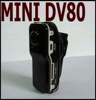 Wholesale 1 Piece FPS Mini DV DVR Sports Video Camera Camera MD80 Spy Sports Camera x480 Mega Pixel
