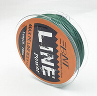 Cheap BNT Brand Multifilament PE Braided Fishing Line Carp 100m Super Strong 4 Stands 8 10 20 30 40 60LB Free Shipping