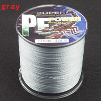 Wholesale SUPER STRONG PE BRAID FISHING LINE m blue fishing tackle topwin