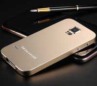 aluminium matte - Ultrathin Aluminum Matting Case for Samsung Galaxy S5 i9600 Phone Bag Luxury Matte Surface Metal Cover Aluminium OYO