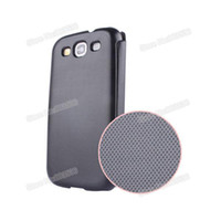 airmail covers - S3 PU Leather Flip Case with Plated Logo Phone Cover For Samsung Galaxy S3 Case i9300 Airmail