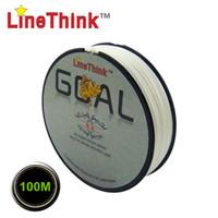 Wholesale 100M Brand LineThink GOAL Japan Quality Multifilament PE Braided Fishing Line Fishing Braid
