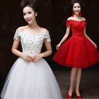 Cheap girls short formal ivory white ball gowns 8th grade sweet 16 dresses graduation special occasion party dresses for teens W2464