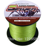 Wholesale Spider Multifilament Braided Wire Fishing Line M LB mm PE fluorocarbon Ocean Boat Fishing Mainline