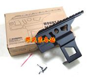 ak flashlight mount - AK and AK Ris Rail side front Top Scope Flashlight Laser Dot Sight Mount receiver weaver for hunting