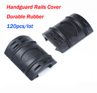 Wholesale Rubber Tactical Picatinny Hand Guard Quad Rail Covers Rubber Weaver Rail Covers