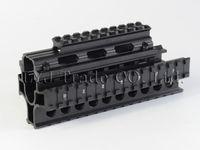 ak rail mount - Yugo M70 AK Quad Rail Handguard For Laser Dot Sights Riflescope Mount V cut for Co witness with Iron Sights MTU011