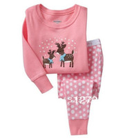 beautiful pajamas - beautiful New year gift sets Baby Boys Autumn Long Sleeve Pajamas Kids Suits Children Sleeping wear