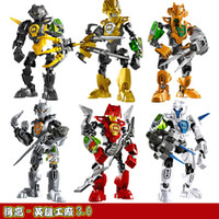 Wholesale Too high Hero Factory robot B generations of children assembled educational toys DIY fit stunning six new