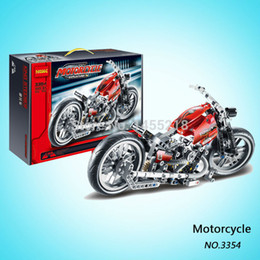 Wholesale decool motorcycle exploiture Building Blocks Sets Educational DIY Toys Bricks toys best gift for children