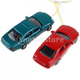 Wholesale Flaring Light Painted Model Cars w Wires Scale N to EC150