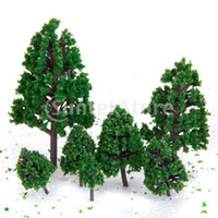 architecture layout - New Mixed Model Trees Train Railways Architecture War Game Scenery Layout cm