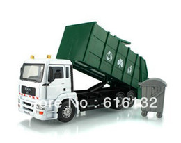 Wholesale Best sales alloy garbage truck car alloy car simulation model car free shopping