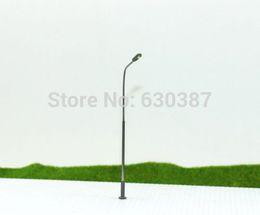 Wholesale LQS07 Model Railway Train Lamp Post Street Lights HO TT Scale LEDs NEW