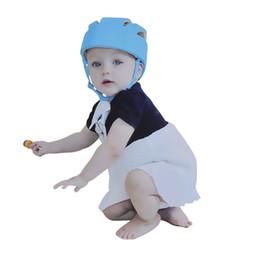 Wholesale XP Protective Hat Gear Unisex Baby Toddler Hat Safety Helmet Headguard Adjustable Children Hats Cap Harnesses Gift Colors